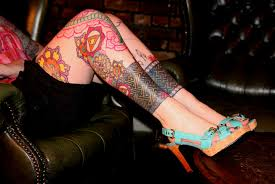 thigh sleeve tattoo designs tattoos for women over 50 womens thigh tattoos inks