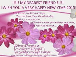 happy new year wishes for friends happy holidays