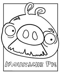 angry birds coloring pages angry birds pig coloring pages