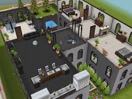 three story mansion 3rd floor designedbyjade sims freeplay