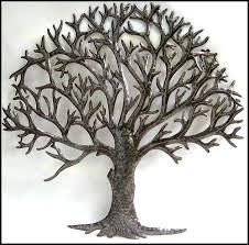 tree metal wall decor tehno