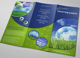 brochure 3 fold template psd 10 brilliant environmental energy brochures to inspire you in