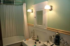 1915 craftsman bungalow bathroom wall sconces