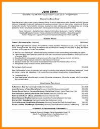 executive chef resume examples resume example and free resume maker