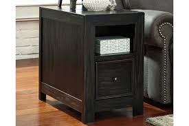 Power Chairside End Table Gavelston Chairside End Table Ashley Furniture Homestore