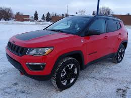 red jeep compass interior new 2018 jeep compass 4x4 trailhawk leather interior touchscreen