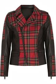 sophie song london spring festival red plaid