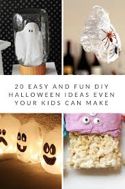 20 easy and fun diy halloween ideas even your kids can make the