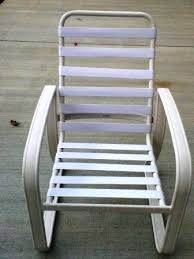 White Patio Chair Patio Furniture Vinyl Replacements In Virginia