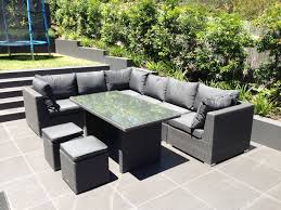 Wicker Dining Patio Furniture Outdoor Furniture Evolution Dining Out In Comfort Outdoor Elegance