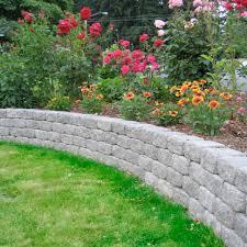 Concrete Block Garden Wall by Romanstack Mutual Materials