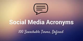 Social Media Meme Definition - the ultimate list of social media acronyms eli5 ftw