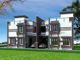 Row Houses Elevation - 8930twin house design s jpg house elevation duplex pinterest
