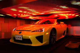 lexus lfa or audi r8 mysterious lexus lfa roadster at media ambition tokyo 2015 gtspirit