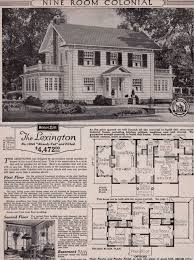 center colonial house plans tour a real sears roebuck and co mail order craftsman home