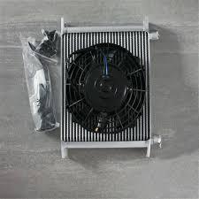oil cooler fan kit 30 row an10 fitting heavy duty oil cooler 7 electric fan kit japan