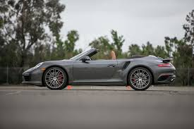 orange porsche 911 convertible 2017 porsche 911 turbo cabriolet first test the ultimate socal
