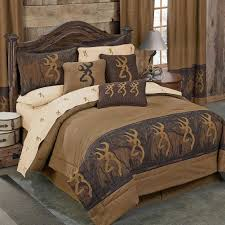 browning bedspread browning buckmark oak tree bedding collection