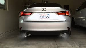 youtube lexus is f sport 2014 lexus is350 f sport exhaust cold start rev youtube