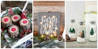 Christmas Decoration To Make At Home Easy Christmas Decorations To Make At Home
