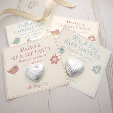 christening favors christening baby shower gift favours by tailored chocolates and