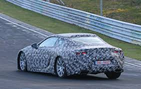 toyota lexus lf lc lexus lf lc spied testing near the nurburgring