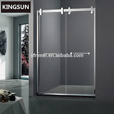 Shower Door Drip Framed Shower Door Bottom Sweep With Drip Rail Doors Ideas