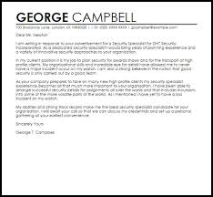 security cover letter sample whelan security officer cover letter