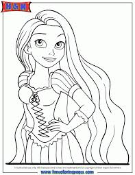 disney coloring pages tangled rapunzel free download disney