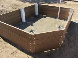 use trex to build low maintenance raised garden beds