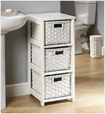 Wicker Basket Bathroom Storage Wicker Bath Storage Home Design Cabinets Mamak