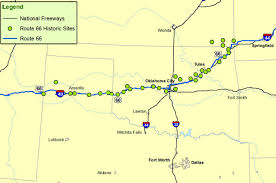 Historic Route 66 Map by Maps Of Route 66 Plan Your Road Trip