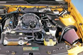 2007 mustang gt engine specs shelby ford mustang gt 500 gains 53 71 hp with k n air intake system