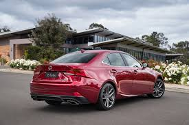 lexus is executive edition lexus reveals new is special edition models