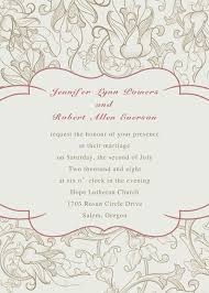 wedding program sles free rustic wedding invitations with free response cards part 10