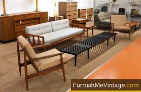 Mid Century Daybed Showroom Photos