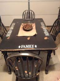 Primitive Dining Room Tables Best 25 Stenciled Dining Table Ideas On Pinterest Dive Store