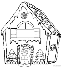 good gingerbread house coloring page 61 with additional download