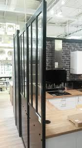 cloison vitree cuisine faire une verrière intérieure style atelier pas cher notre