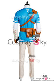 link halloween the legend of zelda breath of the wild link cosplay costume