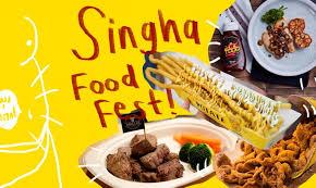 singha cuisine เตร ยมกระเพาะไว ให พร อม เพราะเราจะชวนไปบ กงาน singha food