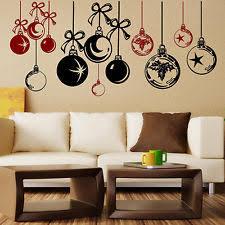 Minion Christmas Window Decorations by Christmas Window Stickers Home Decor Ebay