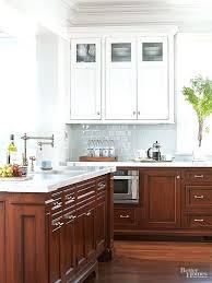 kitchen cabinets light upper dark lower u2013 colorviewfinder co