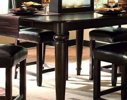 dining room gorgeous black leather dining room chairs sale