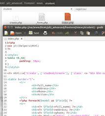 membuat web yii create crud in yii2 without gii latcoding com