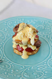 cuisine hollandaise potato stacks one minute hollandaise