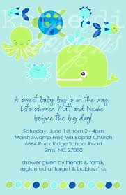 the sea baby shower invitations the sea baby shower invitations jankoelling me