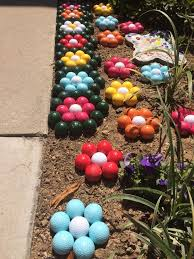Easter Yard Decorations Diy by 260 Best Golf Ball Crafts Images On Pinterest Golf Ball Crafts