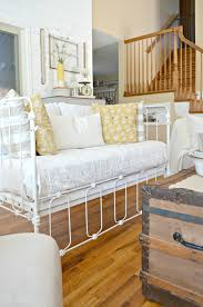 How To Convert A Crib To A Bed by Vintage Crib Converted Into Couch Little Vintage Nest