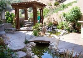 Backyard Small Pond Ideas Garden Design Garden Design With Fish Pond Ideas For Small Yards